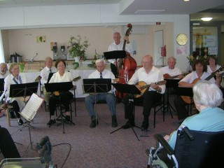 Musiker der Mandolinen- und Gitarrenvereinigung