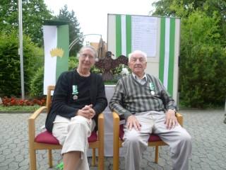 Unser Köngispaar Usula die I. Küper und Heinrich der I. Budweg