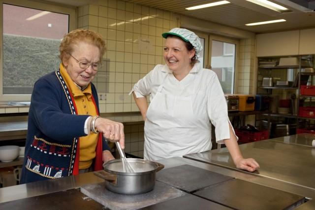 In der Küche (Foto: SMMP/Pohl)