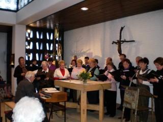Kirchenchor St. Nikolaus in der Hauskapelle